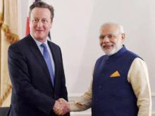 Narendra Modi, David Cameron