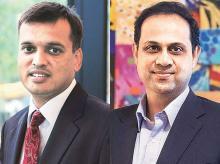 Rajeev jain, MD & Sanjiv Bajaj, Vice-Chairman, Bajaj Finance