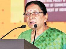 Gujarat Chief Minister, Anandiben Patel