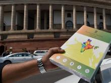 Economic Survey 2016 which was tabled in Parliament  in New Delhi on Friday during the Budget session