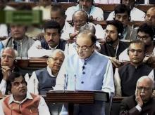Finance Minister Arun Jaitley presenting the Annual Budget 2016-17 in the Lok Sabha