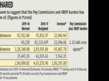 Govt provides for OROP, pay panel despite earlier doubts