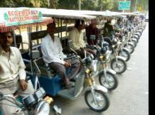 gst, e-rickshaw, e-rickshaw tyres, e-rickshaw tyres gst, electric rickshaws, goods and services tax, gst on e-rickshaw tyres, Motor Vehicle Act, Authority for Advance Rulings, pneumatic tyres, motor vehicles, Ceat, gst law, powered cycle rickshaws