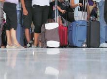 Airports see queue pangs