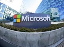 General view of Microsoft Corporation headquarters at Issy-les-Moulineaux, near Paris. Photo: Reuters