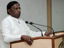 Congress' V Narayanasamy. Photo: PIB