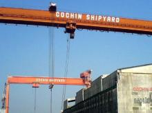 Defence orders propel Cochin Shipyard to new highs