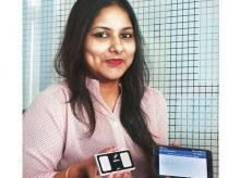 Agatsa, founded by Neha Rastogi and Rahul Rastogi, has started selling Sanket to ONGC, which plans to use it for its field engineers in distant locations, and is in talks with the Border Security Force