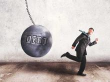 Debt recovery is off to a slow start