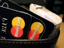 MasterCard credit cards are seen in this illustrative photograph. Photo: Reuters
