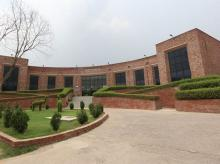 Jawaharlal Nehru University campus.