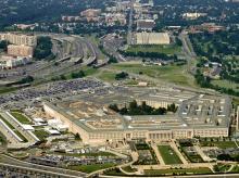 Aerial of the Pentagon, the Department of Defense headquarters in Arlington, Virginia, near Washington DC. (Photo: Shutterstock)