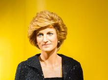 Wax statue of Princess Diana. (Photo: Shutterstock)