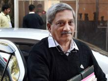 Defence Minister Manohar Parrikar. Photo: PTI