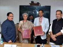 ICMR and ICAR officials