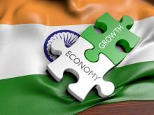 economy, growth, trade, India, flag