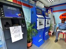 Demonetisation, ATM