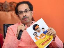 Shiv Sena President Uddhav Thackeray. Photo: PTI