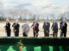 Groundbreaking ceremony for Monsanto's Louisiana expansion project