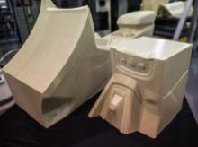 Auto parts made using 3D printing technology
