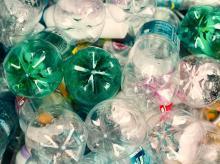 Plastic bottles, recycle, waste, plastic,