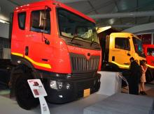 The industry estimates the unsold commercial vehicle inventory with dealers is around 35,000