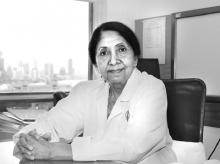 Indira Hinduja, Gynaecologist