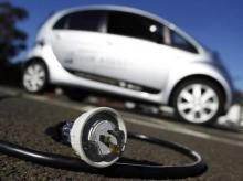 An electric car. Photo: Reuters