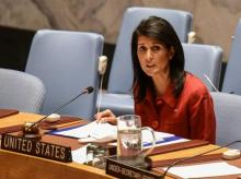 Nikki Haley, syria