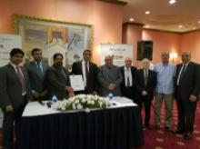 Egyptian Petrochemicals Company & Nuberg officials