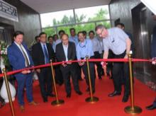 IAC officials at the new global engineering center in Pune