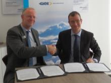 Solvay & GKN Aerospace officials