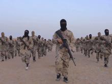 File Photo: ISIS attackers. Photo: PTI/AP