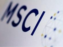 The MSCI logo is seen in this June 20, 2017. Photo: Reuters