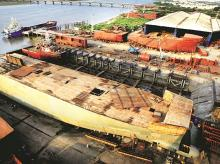 ABG Shipyard has been unable to deliver orders because of lack of working capital