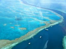 File photo of Great Barrier Reef. Photo courtesy: Wikipedia