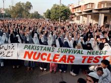 Pakistan, nuclear test, nuclear, Pressler amendment, Larry Pressler,