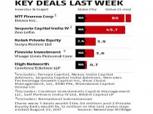 Graphic: Key deals last week