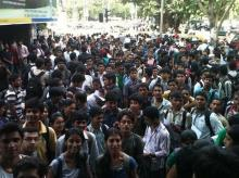 At least half of those enrolled in higher education in India are enrolled in private higher education, according to O P Jindal University's research. Photo: WikiCommons