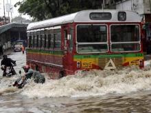 In pics: Mumbai braces for typhoon-like weather, heaviest rain since 2005
