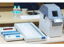 VVPAT machines, VVPAT, EC, voting, EVMs,vote