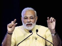 Prime Minister Narendra Modi speaking at an event in New Delhi. ( File photo: PTI)