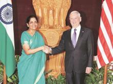 Nirmala Sitharaman, James Mattis