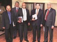 Urjit Patel, N S Vishwanathan, Michael Patra, R Gandhi, S S Mundra