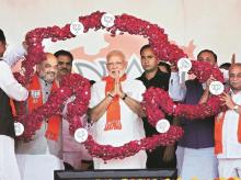 Narendra Modi, Amit Shah, BJP