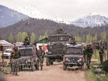 Kashmir, security forces