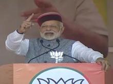 Narendra Modi, HP Polls