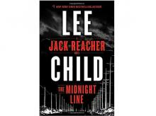The Midnight Line A Jack Reacher Novel, Author: Lee Child, Publisher: Delacorte Press, Pages: 384, Price: $17.39
