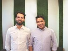 SpotDraft co-founders Madhav Bhagat (left) and Shashank Bijapur