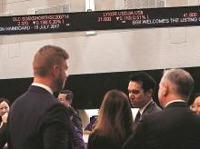 Traders will be able to step out for an hour from noon for a midday trading intermission.